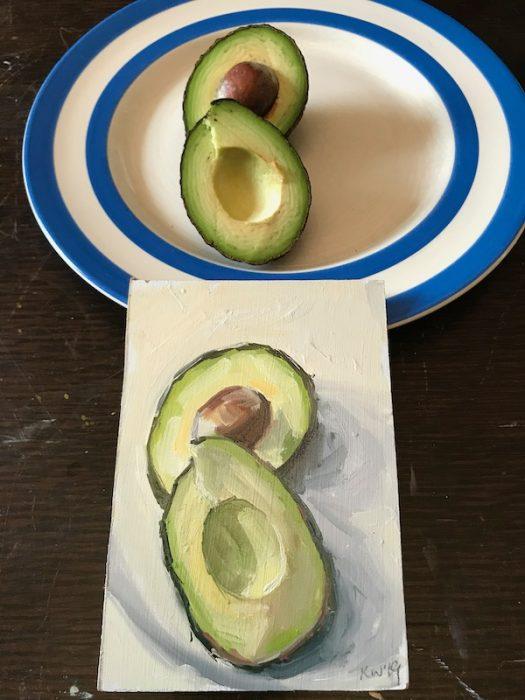 Avocado 2019 15x10cms