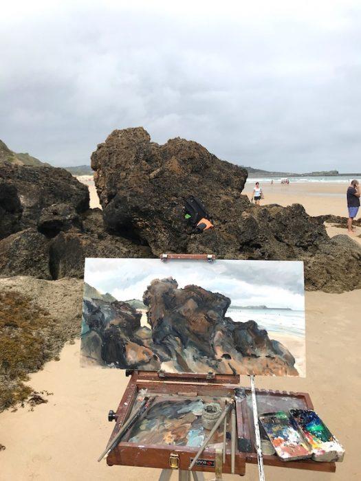 My Rocks; Vicente de la Barquera 2020 30x60cms