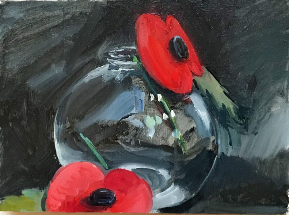 Remembrance Poppies 2019 10x15cms