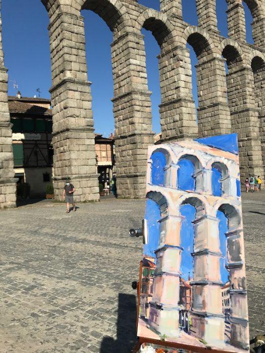 Segovia, Spain, 2020 60x30cms
