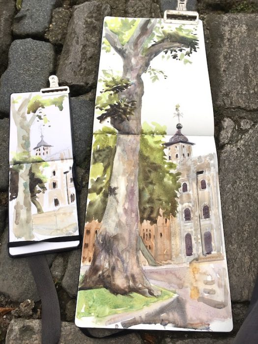 Tower of London Sketchbooks A4 2018